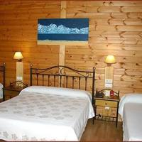 Wood Cabin for 4 people (2 adults + 2 child)