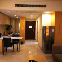 Hotellikuvia: Yue Ke Boutique Apartment Jin Ji Hu Branch, Suzhou