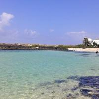 Zdjęcia hotelu: Frontline beach apartment in the stunning Cotillo lagoons, north Fuerteventura, Cotillo