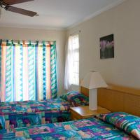 Studio with Two Twin Beds with Air Conditioning