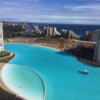 ホテル写真: Departamento Laguna Bahia, Algarrobo