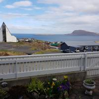 Foto Hotel: Beautiful house in Tórshavn with a great view, Hoyvík
