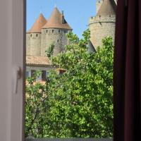 Twin Room with Medieval city view