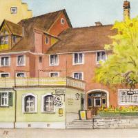 Hotel Pictures: Hotel Gasthof Inselgraben garni, Lindau