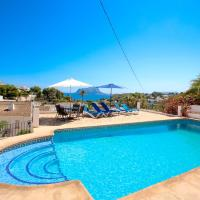 Hotellikuvia: Anna-2 - sea view villa with private pool in Benissa, Benissa