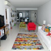 Foto Hotel: Pitangueiras - Apto. Frente Mar, Guarujá