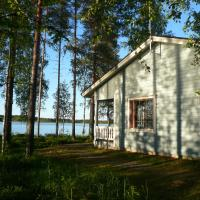 Economy Large Two-Bedroom Cottage with Sauna and Private Shore