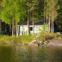 Two-Bedroom Cottage with Sauna and Private Shore