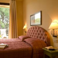 Double Room with Pinewood View