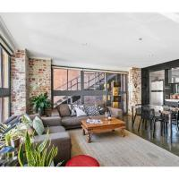 Zdjęcia hotelu: Chic warehouse apartment in hipster, foodie hub, Melbourne