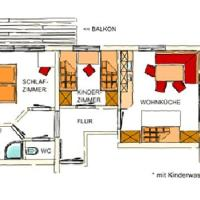 Superior Two-Bedroom Apartment (5 Persons)