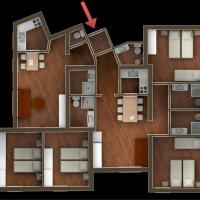 Four-Bedroom Apartment (10 Adults)