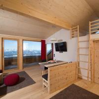 Two-Bedroom Apartment with Balcony and Mountain View