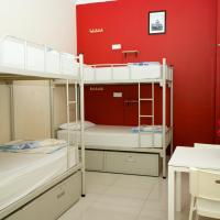 Single Bed in 4-Bed Mixed Dormitory Room with Private Bathroom