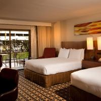 Queen Room with Two Queen Beds - Pool Side (No Resort Fees)