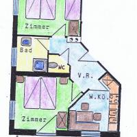 Two-Bedroom Apartment ( 4 Adults + 1 child)