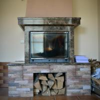 Duplex Apartment with Fireplace