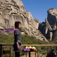 Double/Twin Room with Meteora View