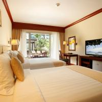 Deluxe Twin Room with Pool Access