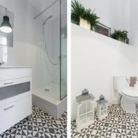 Interior Double Room with Shared Bathroom