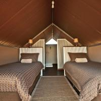 Twin Tent with Private Bathroom