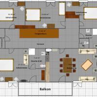 Four-Bedroom Apartment-Annex