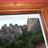 Double Room with Balcony and Panoramic Meteora View - Ground Floor