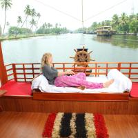 Fotografie hotelů: Luxury Houseboat by Nova Holidays, Alleppey