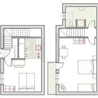 Two-Bedroom House with Balcony