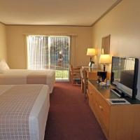 Deluxe Double Room with Two Double Beds - Pet-Friendly