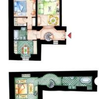 Two-Bedroom Suite with Private Garden