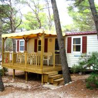 Two-Bedroom Mobile Home with Terrace