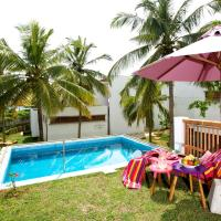 Double Room with Pool and Balcony