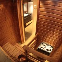 One-Bedroom Apartment with Sauna