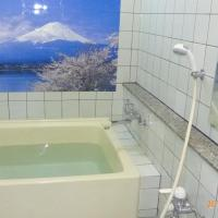 Japanese Family Room with Shared Bathroom