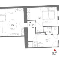 Two-Bedroom Apartment (7 Adults) Top 10