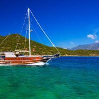 Three-Cabin Boat