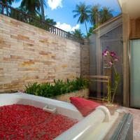 Family Villa with Garden View
