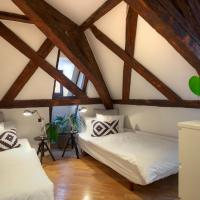 Two-Bedroom Apartment Attic