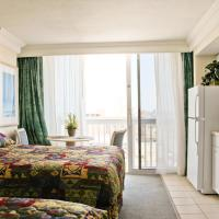 Studio with Two Queen Beds - Non-Smoking - Partial Ocean View