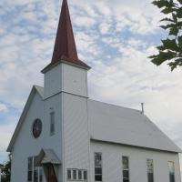 Maison-église M-P Villeneuve