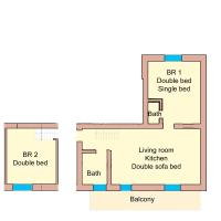 Premier Two-Bedroom Apartment with Free Tauern Spa Entry