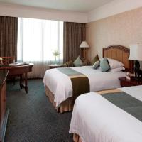 Deluxe Double Room with Two Double Beds and City View
