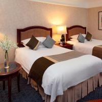 Club Double Room with Two Double Beds and City View