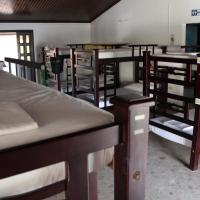 Single Bed in 10-Bed Dormitory Room with Fan
