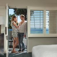 Deluxe Double Room with Two Double Beds - Ocean View