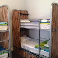 Bed in 4-Bed Female Dormitory Room with Shared Hallway Bathroom