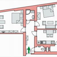 Two-Bedroom Apartment in I.P.Pavlova 32 street