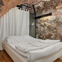 Double Bed in a Dormitory (No Window)