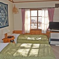 Twin Room with Shared Bathroom- Country Inn Milky House (Niseko 482-1)